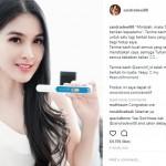 Congrats! Sandra Dewi Hamil Anak Pertama