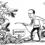 New York Times Tampilkan Karikatur Jokowi Lawan Islam Radikal