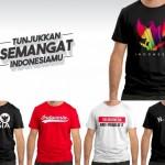 INFO BELANJA : Sambut HUT Ke-72 RI, Tokosolopos.com Hadirkan Kaus Khusus Edisi Kemerdekaan