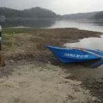 WADUK SERMO : Penurunan Debit Air Sulitkan Para Penangkap Ikan