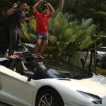 MOST POPULAR YOUTUBE : Raditya Dika Jajal Lamborghini Raffi Ahmad