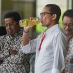 Jadi Wagub DKI, Sandiaga Uno Tebang Pilih Pertanyaan Wartawan