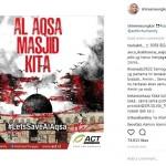 Salut! 3 Artis Indonesia Ini Serukan Penyelamatan Masjid Al Aqsa di Instagram