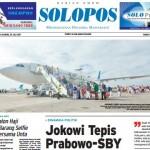 SOLOPOS HARI INI : Dinamika Politik: Jokowi Tepis Prabowo-SBY