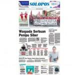 SOLOPOS HARI INI : Waspada Serbuan Penipu Siber