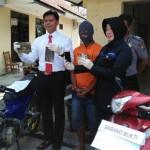 PENJAMBRETAN MADIUN : Ditangkap, Penjambret Ini Mengaku Incar Perempuan Berkendara Sendirian