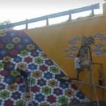 INFRASTRUKTUR SEMARANG : Tak Melulu Pelangi, Terowongan di Tlogosari Bergambar Wayang