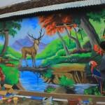 WISATA MADIUN : Warga Kampung Warna-Warni Jatijajar Ingin Tularkan Ide Kreatif