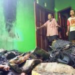 KEBAKARAN KULONPROGO : Kebakaran Hanguskan Ruang Keluarga