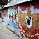 Lukis Mural 750 Meter Dinding di Jogja Membawa Misi Perdamaian