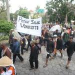 Petani Salak Gelar Aksi di Pemkab Sleman, Sampaikan 2 Tuntutan