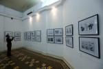 Menelusuri Jejak Indonesia dari Pameran Karikatur Oom Pasikom Karya G.M. Sudarta