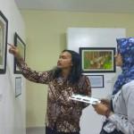 PAMERAN SEMARANG : Gali Kearifan Lokal, Mahasiswa Unnes Ilustrasikan Ratu Kalinyamat