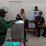 PILKADES BOYOLALI : Pakai E-Voting, Pemilihan Kades Ketaon Banyudono Lancar