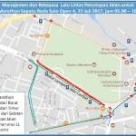 KEJURNAS SEPATU RODA 2017 : Jl. Adisucipto Solo Depan Stadion Manahan Ditutup Separuh Sabtu (22/7/2017)