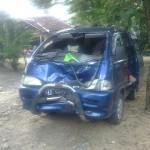 KECELAKAAN SUKOHARJO : Mobil Vs Motor di Jalan Tawangsari-Bulu, Tiga Orang Terluka