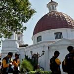 Kota Lama Semarang Bikin Kagumi Pelajar Bengkulu