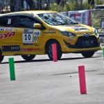 FOTO ASIA AUTO GYMKHANA COMPETITION 2017 : Begini Manuver Pembalap di Semarang