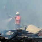 KEBAKARAN SRAGEN : Si Jago Merah Lahap 5 Rumah Warga Plupuh