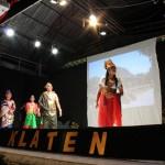 Tampil Spontan Tanpa Latihan di Ketoprak Klaten, Gubernur Ganjar SuksesBikin PenontonGer-Geran