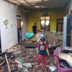 KEBAKARAN KLATEN : Bangunan Oven Kayu dan Rumah Terbakar