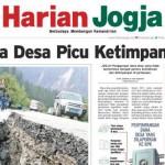 HARIAN JOGJA HARI INI : Dana Desa Picu Ketimpangan