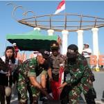 HARI KEMERDEKAAN RI : Unik, Begini Perayaan HUT RI di Alun-Alun Masaran Sragen