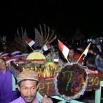 TRADISI SRAGEN : Kirab 40 Tumpeng Jadi Puncak Hajatan Ndesa Maskarebet