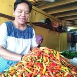 KOMODITAS PANGAN : Harga Cabai dan Bawang di Pasar Solo Turun