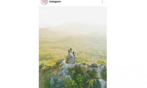 Foto Bukit Cumbri Wonogiri yang di-repost Instagram. (Instagram)