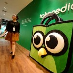 Tokopedia. (Bloomberg)