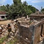 Langgar Kesepakatan, Satu Rumah di Bantaran Bengawan Solo Dibongkar Paksa