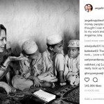 Pakai Kerudung, Angelina Jolie Bikin Kagum