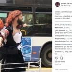 Aviram Carmeli menjadi Rose di video parodi Titanic (Instagram @aviram_carmeli)