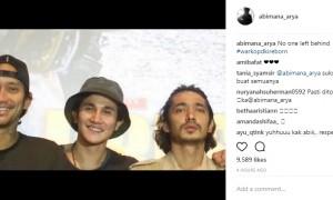 Dukungan Abimana untuk Tora Sudiro (Instagram @abimana_arya)