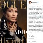 Berdarah Palestina, Bella Hadid Bangga Tampil di Majalah Vogue Arabia