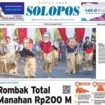 SOLOPOS HARI INI: Rombak Total Manahan Rp200 M