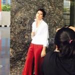 Tampil Beda, Hannah Al Rasyid Potong Rambut Super Pendek