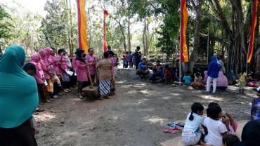 Reresik Kali Merti Embung di Dusun Ngipak, Desa Ngipak, Kecamatan Karangmojo, Gunungkidul (IST)