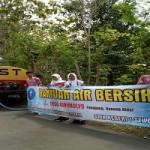 SEKOLAH BANTUL : SMK Negeri 1 Sewon Bantul Bantu Air Bersih ke Warga Gunungkidul