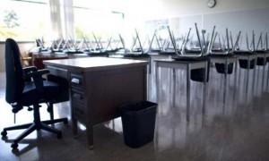 Ilustrasi jam kosong sekolah (montrealgazzette.com)