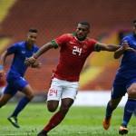 Indonesia vs Thailand (JIBI/ANTARA FOTO/Sigid Kurniawan)