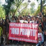 PABRIK SEMEN PATI :  Polisi Kriminalisasi Aktivis Peduli Kendeng, KKL dan JMPPK Datangi Mapolda