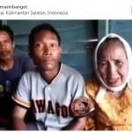 Nenek-nenek 78 tahun menikah dengan perjaka (Instagram)