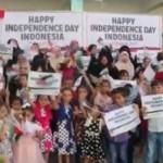 HUT KEMERDEKAAN RI : Ini Cerita Dibalik Ucapan Selamat Hari Kemerdekaan dari Anak-Anak Palestina
