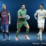 Inilah 55 Nomine Tim Terbaik FIFA 2017, Madrid Mendominasi