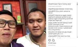 Percakapan Caisar YKS dan Eko Patrio (Instagram @ekopatriosuper)