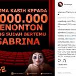 FILM TERBARU : The Doll 2 Raih 1 Juta Penonton