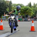 Honda Sport Motoshow 2017, Honda Kampanyekan Keselamatan Berkendara  di Jalan Raya