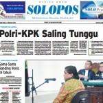 SOLOPOS HARI INI : Teror ke Novel: Polri-KPK Saling Tunggu